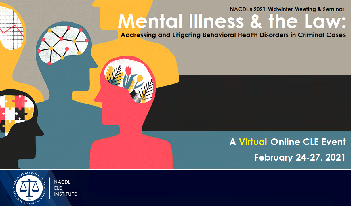 Article 2021 Mental Illness & the Law - Virtual Event