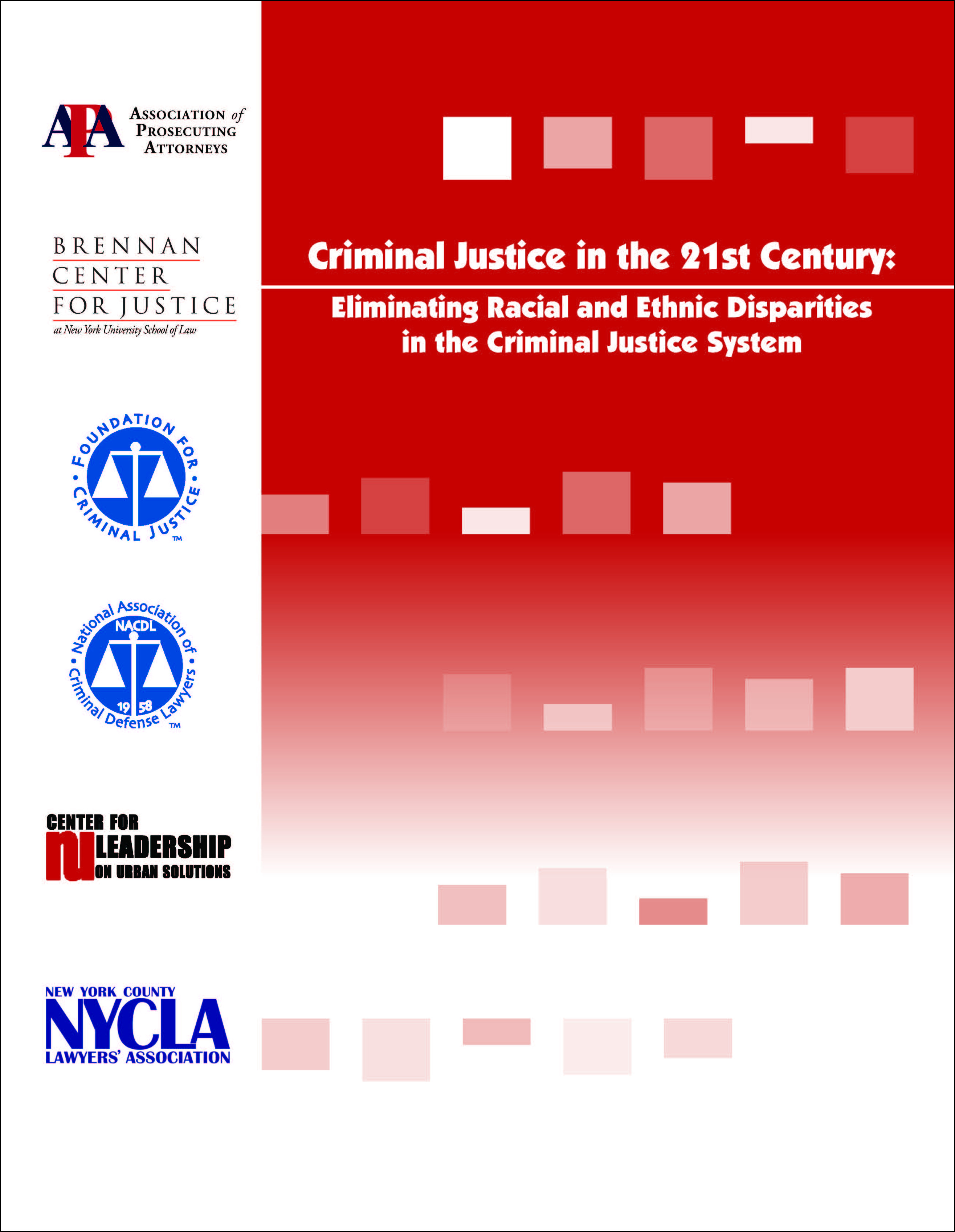 Criminal Justice in the 21st Century Cover