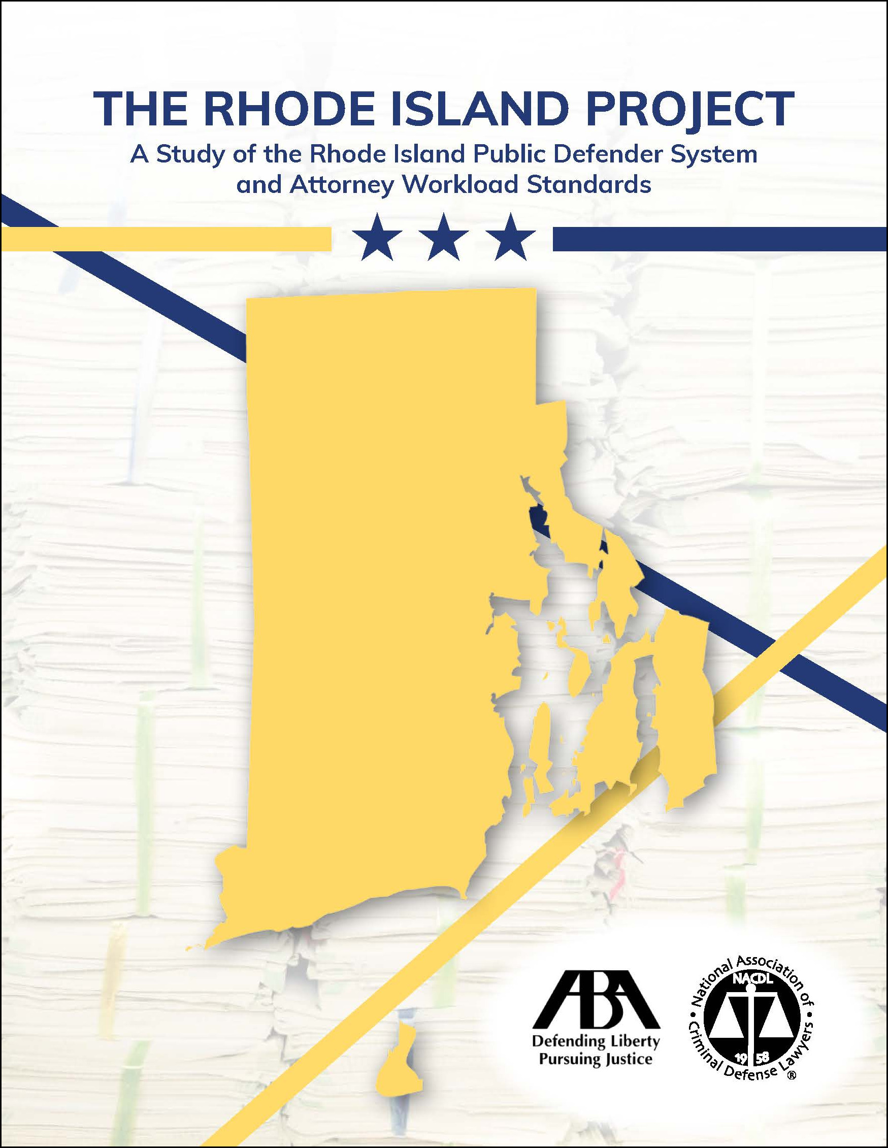 The Rhode Island Project: A Study of the Rhode Island Public Defender System Cover